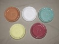 5色の灰皿
